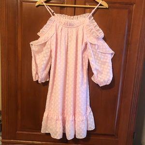Kaari Blue Pink Dress Size XS NWT